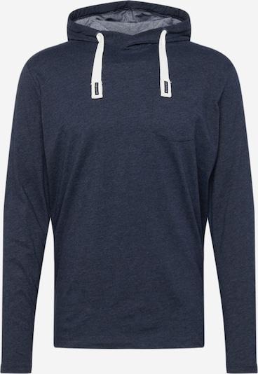 TOM TAILOR Μπλουζάκι σε μπλε νύχτας / λευκό, Άποψη προϊόντος