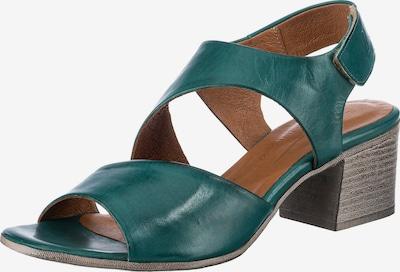 Paul Vesterbro Sandalette in smaragd, Produktansicht