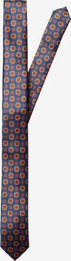 SELECTED HOMME Cravate en crème / marine / rouge pastel, Vue avec produit