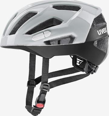 UVEX Fahrradhelm 'Gravel-x' in Grau