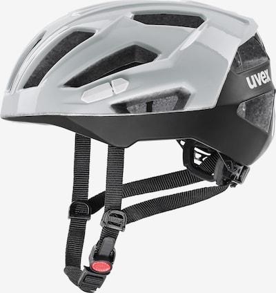 UVEX Fahrradhelm 'Gravel-x' in grau / schwarz, Produktansicht