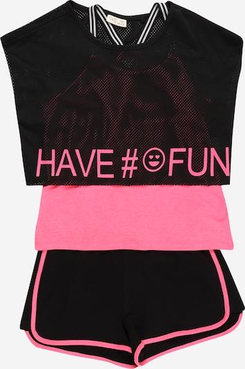 OVS Set in pink / schwarz, Produktansicht