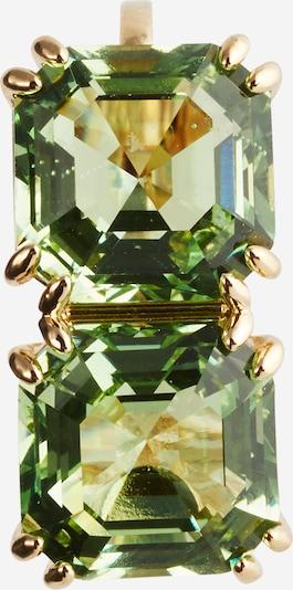 Swarovski Ohrschmuck in gold / hellgrün, Produktansicht