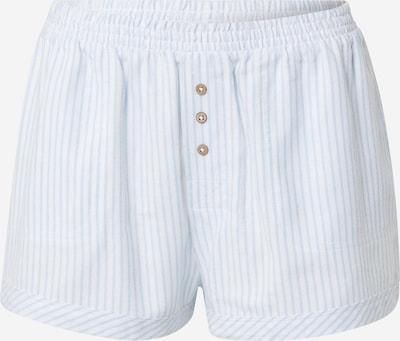 Cotton On Body Pyjamahose in hellblau / weiß, Produktansicht