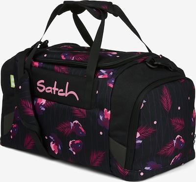 Satch Sporttasche in pink / schwarz, Produktansicht