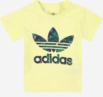 ADIDAS ORIGINALS Särk, värv kollane
