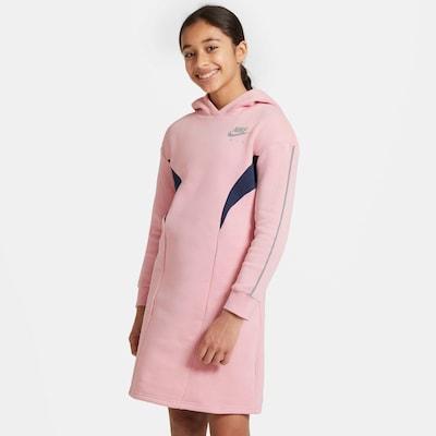 Nike Sportswear Jurk in de kleur Navy / Rosa: Vooraanzicht