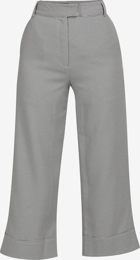 Pantaloni usha BLACK LABEL pe negru / alb, Vizualizare produs