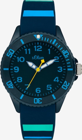 s.Oliver Uhren in Blau