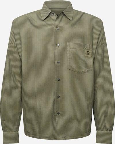 DIESEL Koszula 'LOOMY' w kolorze khaki / ciemnozielonym, Podgląd produktu