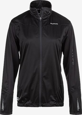 ENDURANCE Athletic Jacket 'ZIVA W' in Black