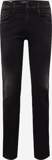 REPLAY Jeans 'ANBASS' in black denim, Produktansicht
