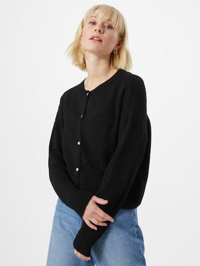 VERO MODA Strickjacke 'VMJOLEEN' in schwarz, Modelansicht