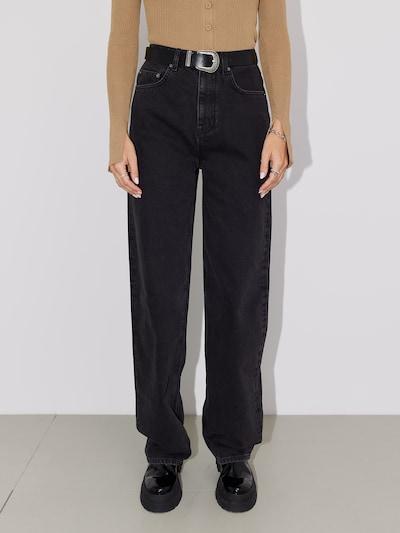 LeGer by Lena Gercke Hose 'Carla' in schwarz / black denim, Modelansicht