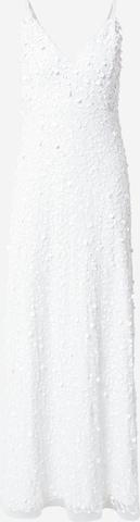 Robe de soirée 'Barbara' LACE & BEADS en blanc