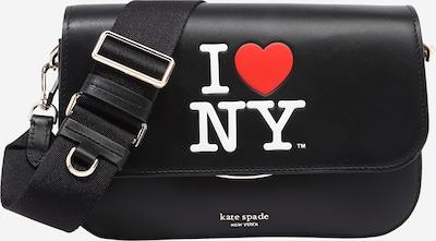 Kate Spade Pleca soma 'I HEART NY', krāsa - sarkans / melns / balts, Preces skats