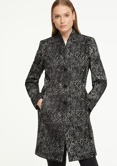 COMMA Kurzmantel in schwarz, Modelansicht