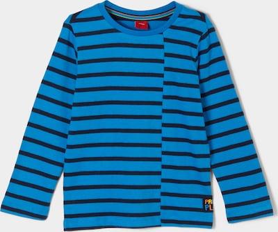 s.Oliver Langarmshirt in blau, Produktansicht