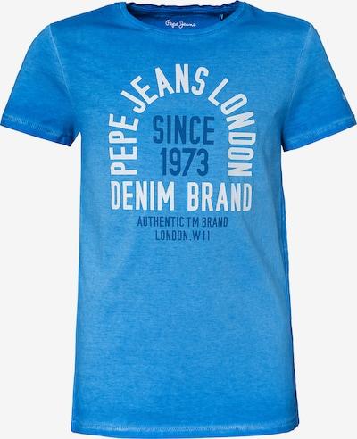 Pepe Jeans Shirt 'KEANE' in blau / weiß, Produktansicht