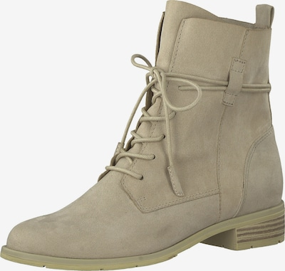 MARCO TOZZI Lace-up bootie in beige, Item view