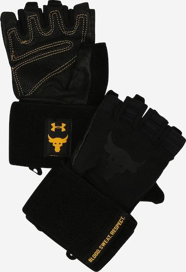 UNDER ARMOUR Guantes deportivos 'Project Rock' en amarillo / negro, Vista del producto