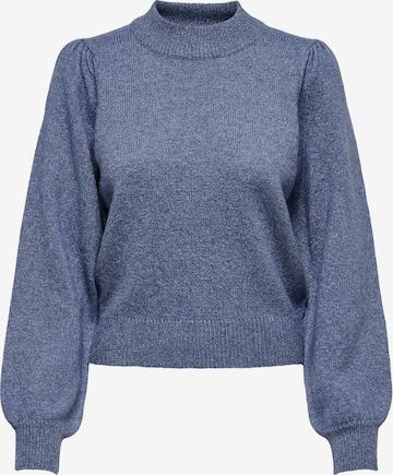 mėlyna JDY Megztinis 'Rue'
