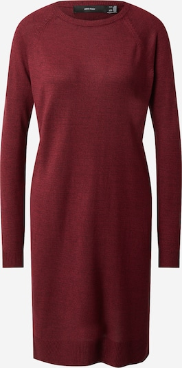 VERO MODA Knitted dress 'MEGHAN' in Wine red, Item view