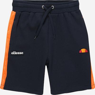 ELLESSE Pantalon 'Canneli' en bleu marine / orange / rouge / blanc, Vue avec produit
