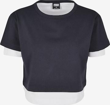 Urban Classics Shirt in Blauw