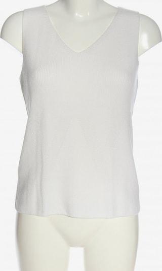 Christian Berg ärmellose Bluse in S in weiß, Produktansicht