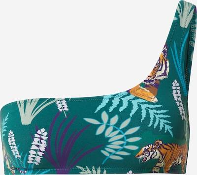 ETAM Bikini gornji dio 'AMOUR' u petrol / miks boja, Pregled proizvoda