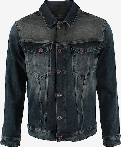 Miracle of Denim Jeans Jacke in blau: Frontalansicht