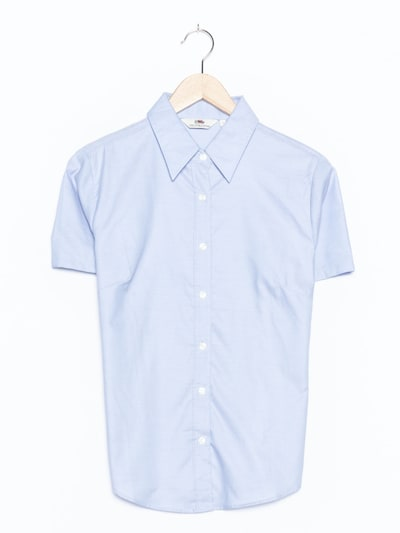 FRUIT OF THE LOOM Bluse in M in pastellblau, Produktansicht