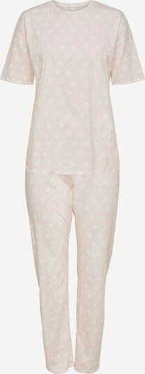 ONLY Pyjama in hellpink / weiß, Produktansicht