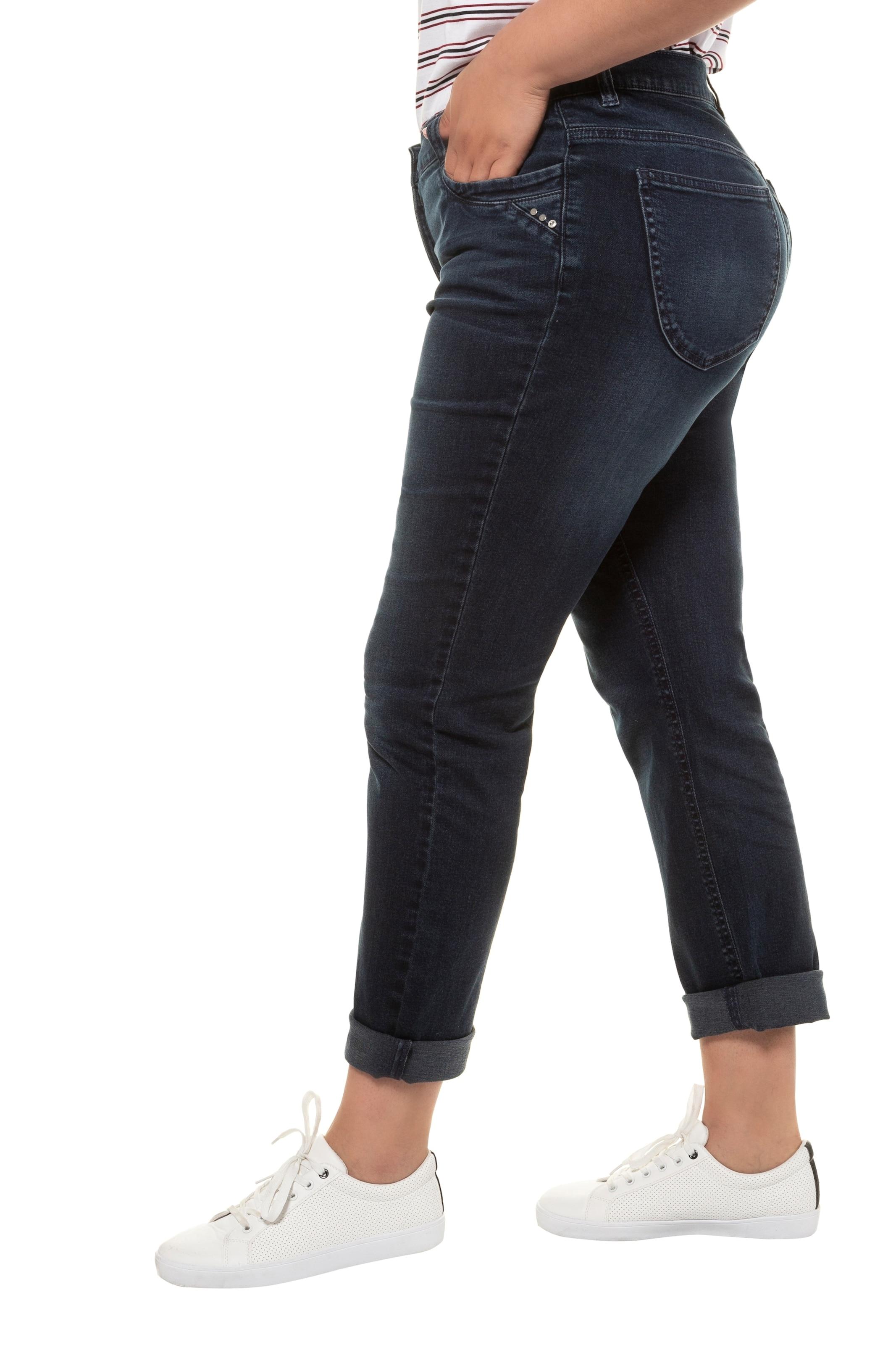 Ulla Popken Jeans in dunkelblau