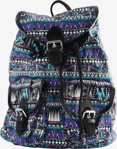 H&M Schulrucksack in One Size in blau / pink / weiß, Produktansicht