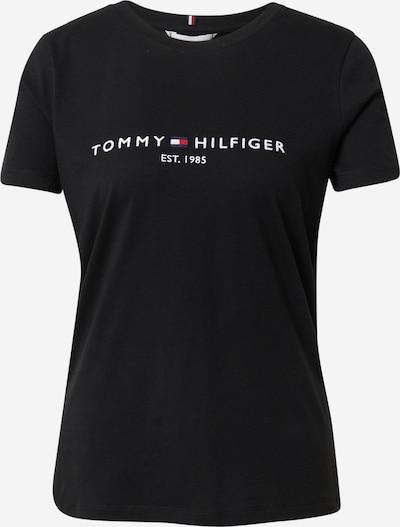 TOMMY HILFIGER T-shirt en bleu marine / rouge / noir / blanc, Vue avec produit