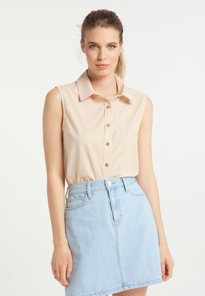 usha BLUE LABEL Bluse in beige, Modelansicht