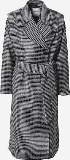 Pimkie Manteau mi-saison en gris / noir, Vue avec produit