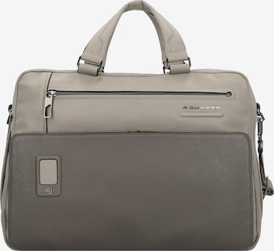 Piquadro Laptoptasche in grau: Frontalansicht