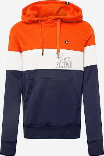 Alife and Kickin Sweatshirt 'King' in Navy / Dark orange / White, Item view