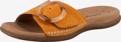 GABOR Pantolette in senf, Produktansicht
