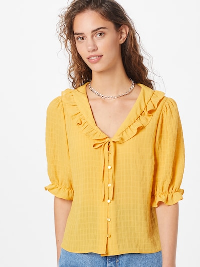 NEW LOOK Blouse 'ALISON' in yellow gold, View model