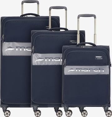 Ensemble de bagages 'Mosaic' March15 Trading en bleu