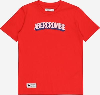 Maglietta 'SUPERMAN' Abercrombie & Fitch di colore marino / grigio chiaro / rosso, Visualizzazione prodotti
