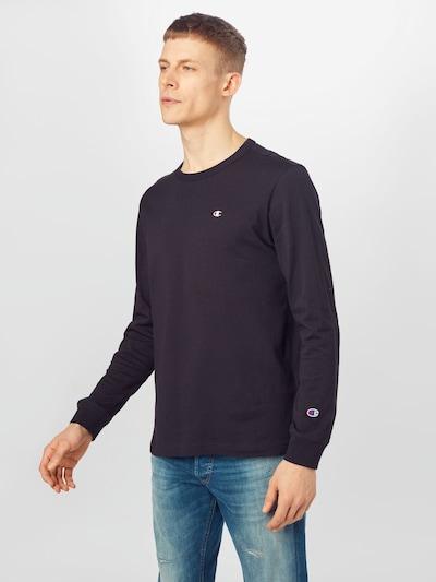 Champion Reverse Weave Majica | črna barva: Frontalni pogled