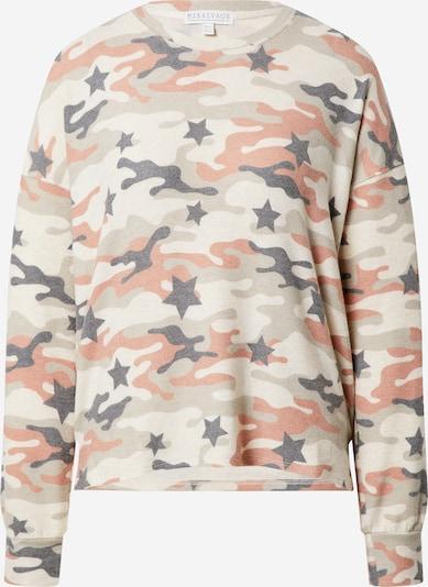 PJ Salvage Slaapshirt in de kleur Beige / Gemengde kleuren, Productweergave