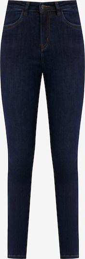 Finn Flare Jeanshose in dunkelblau, Produktansicht