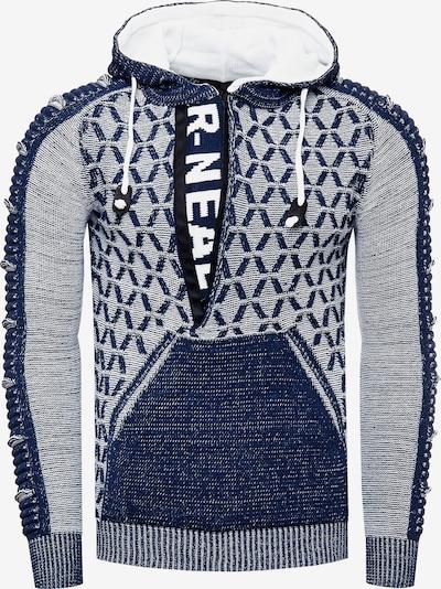 Rusty Neal Sweatshirt in de kleur Petrol, Productweergave