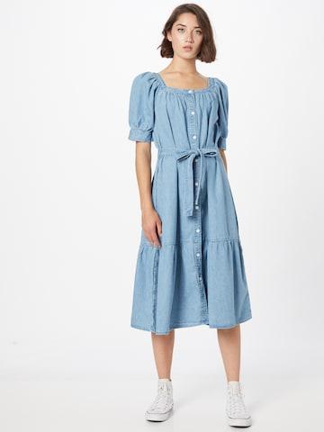 LEVI'S Kleid 'MIKA DENIM DRESS' in Blau